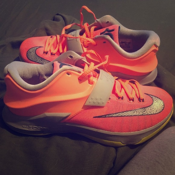 65fa971a0a Nike Shoes | Kd 7 Vii Gs 35000 Degrees Sz 8 Kevin Durant | Poshmark